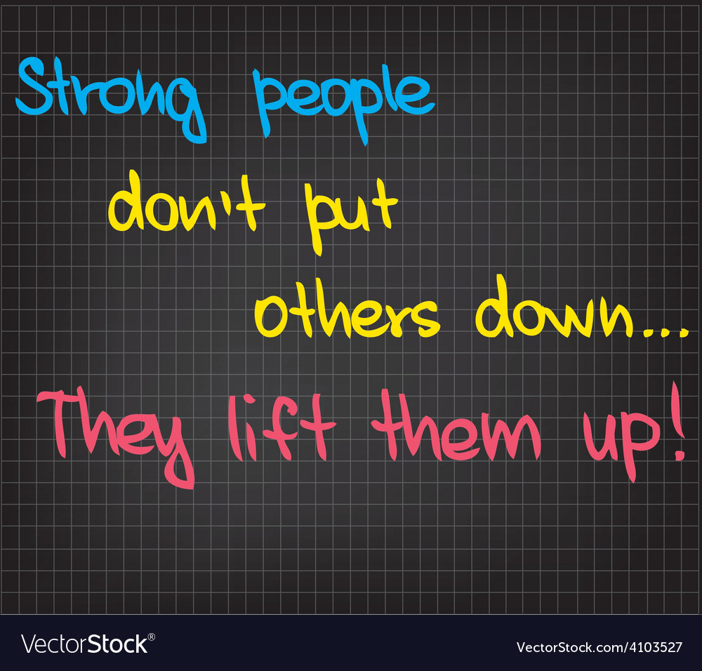 Strong people vector | Price: 1 Credit (USD $1)