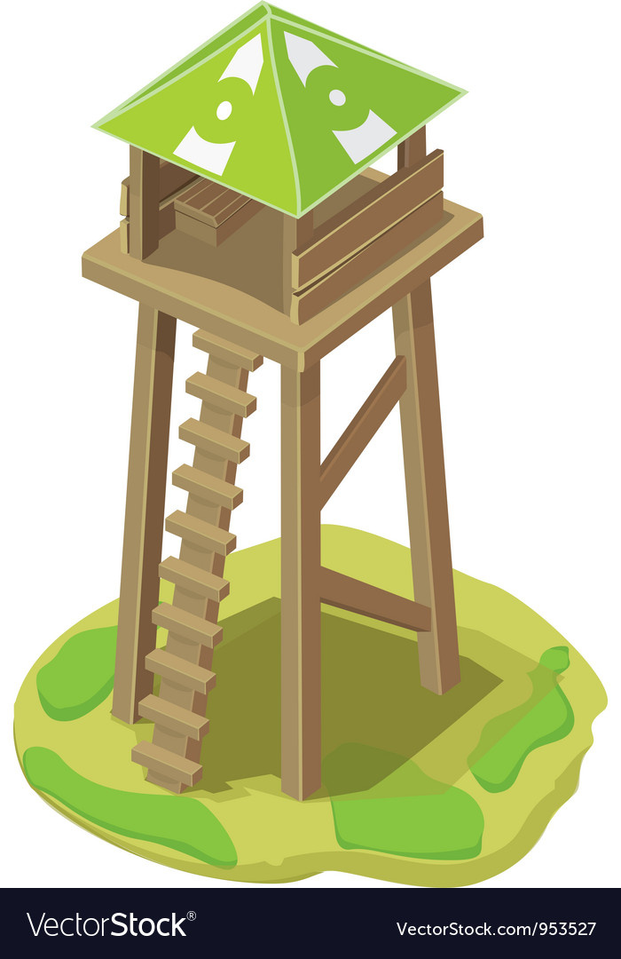 Tower vector | Price: 1 Credit (USD $1)