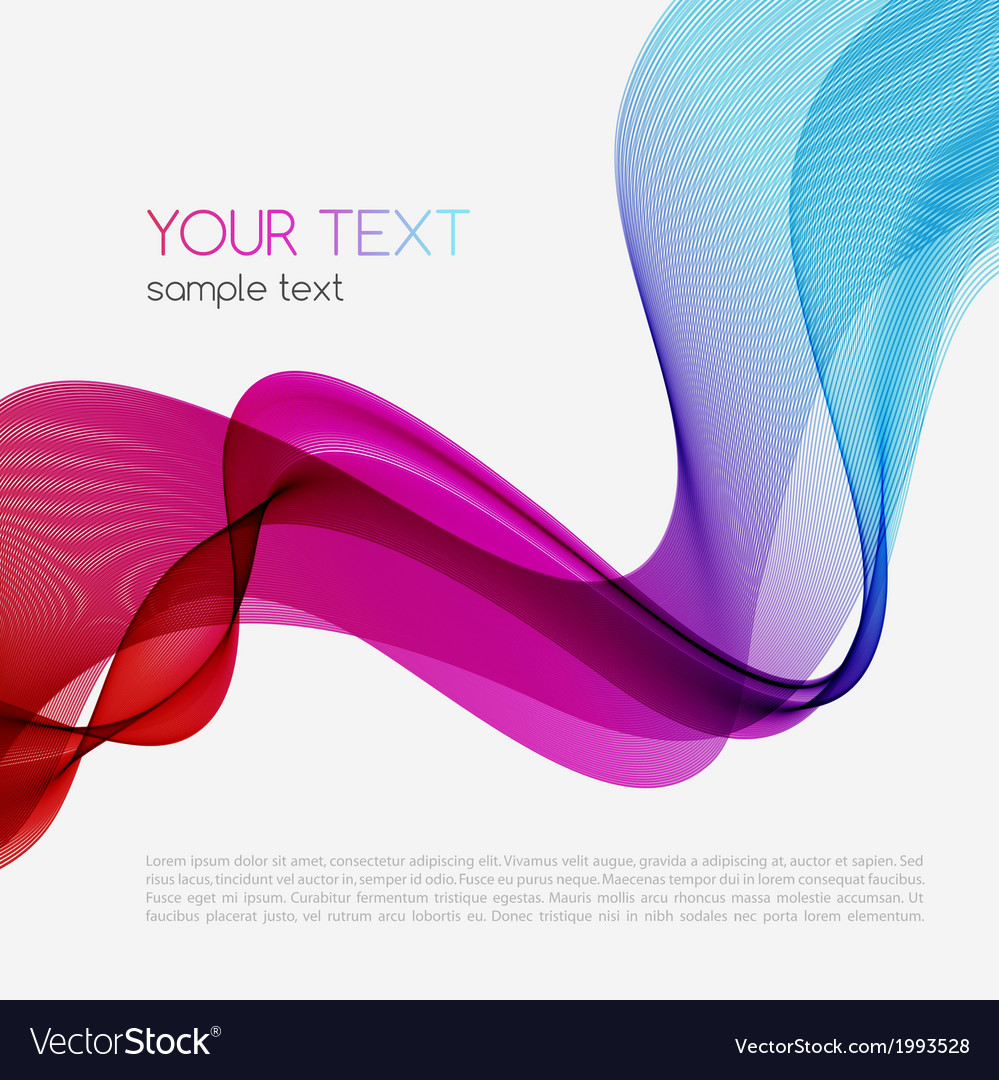 Abstract colorful background spectrum wave vector | Price: 1 Credit (USD $1)