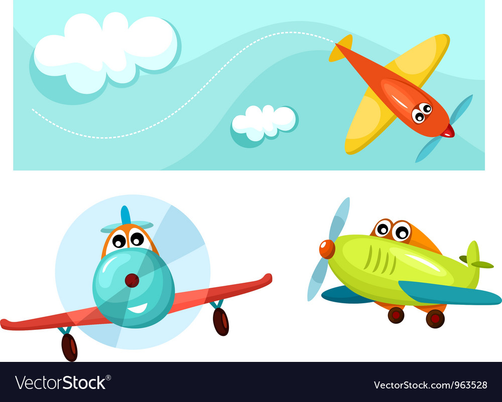 Airplane vector | Price: 3 Credit (USD $3)
