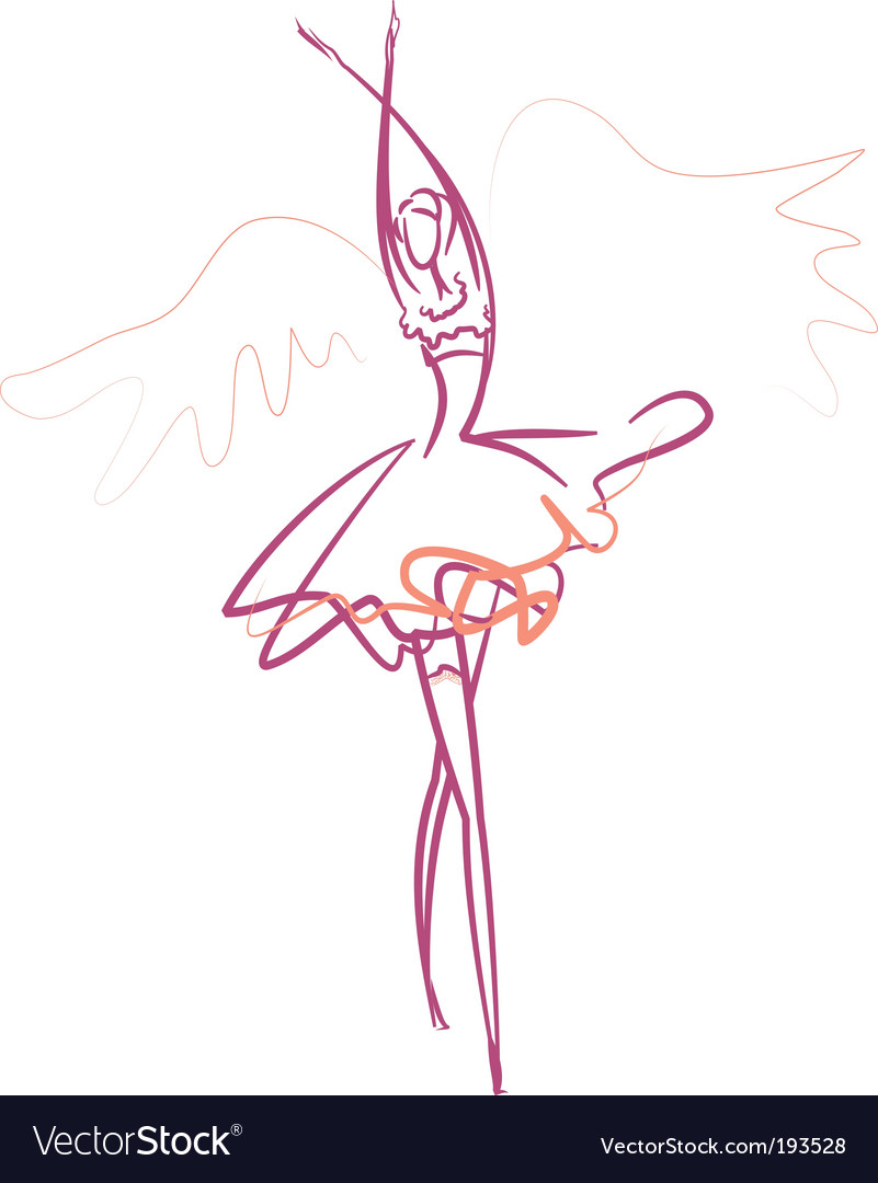 Ballet dancer vector   Price: 1 Credit (USD $1)