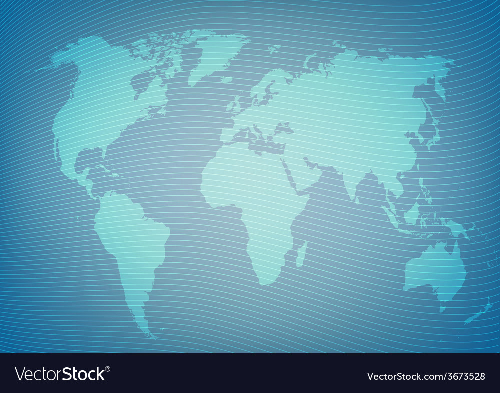Blueeprint style world map package background vector | Price: 1 Credit (USD $1)