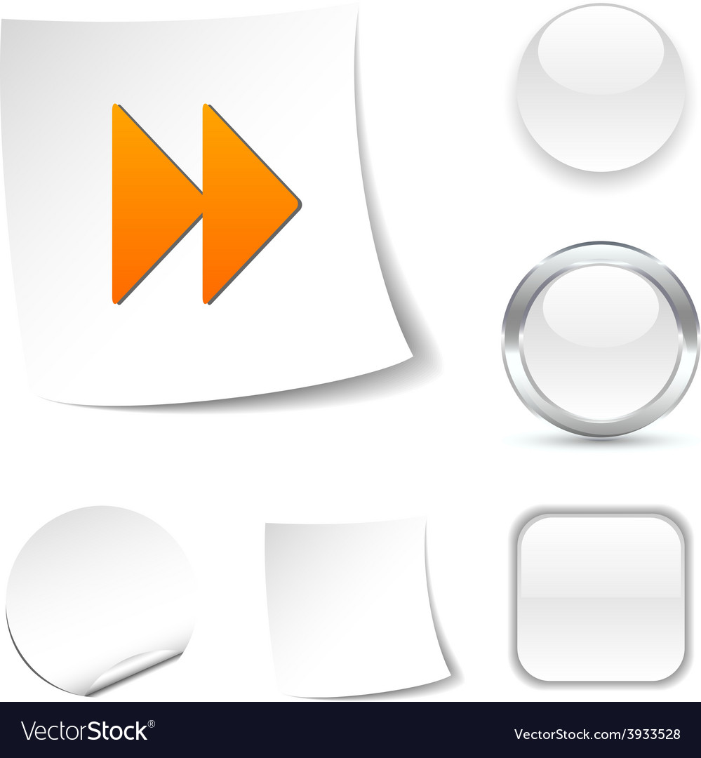 Forward icon vector | Price: 1 Credit (USD $1)