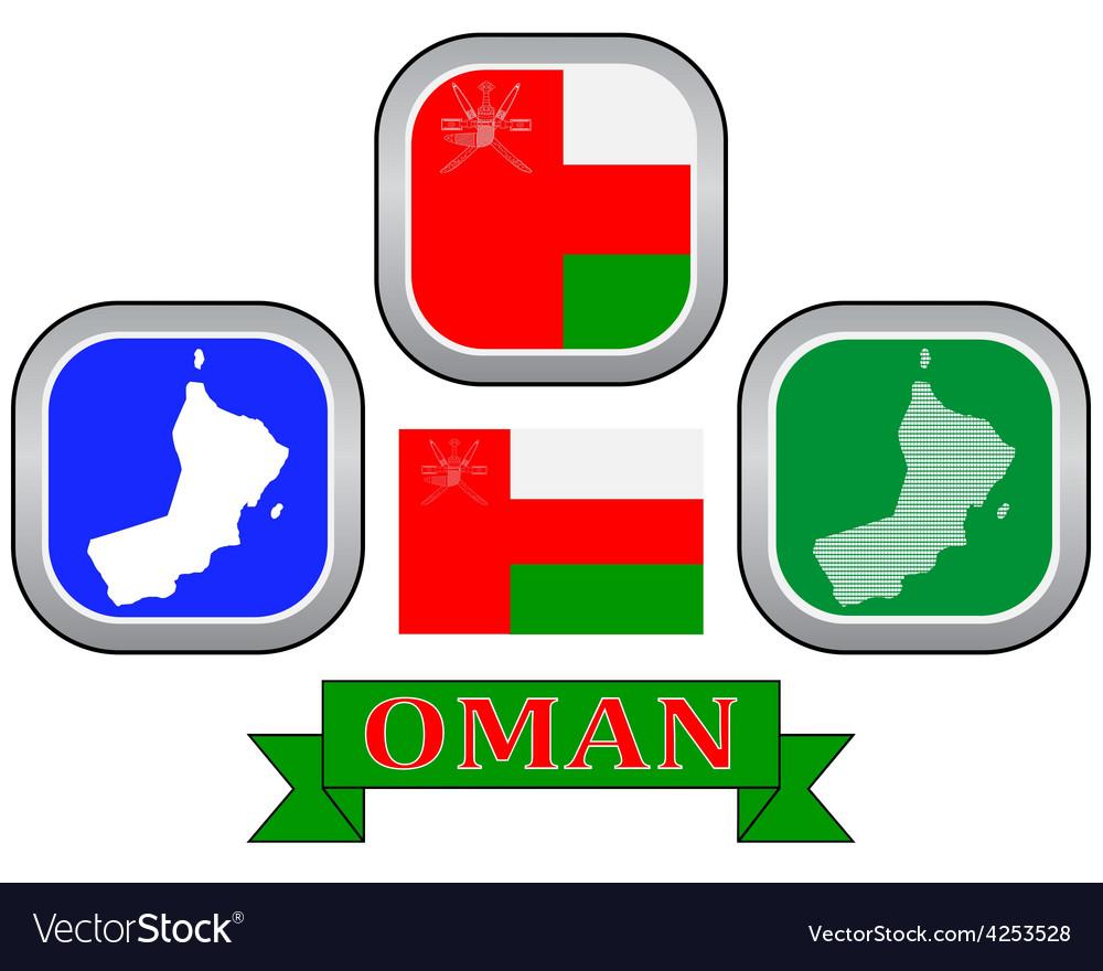 Symbol of oman vector | Price: 1 Credit (USD $1)