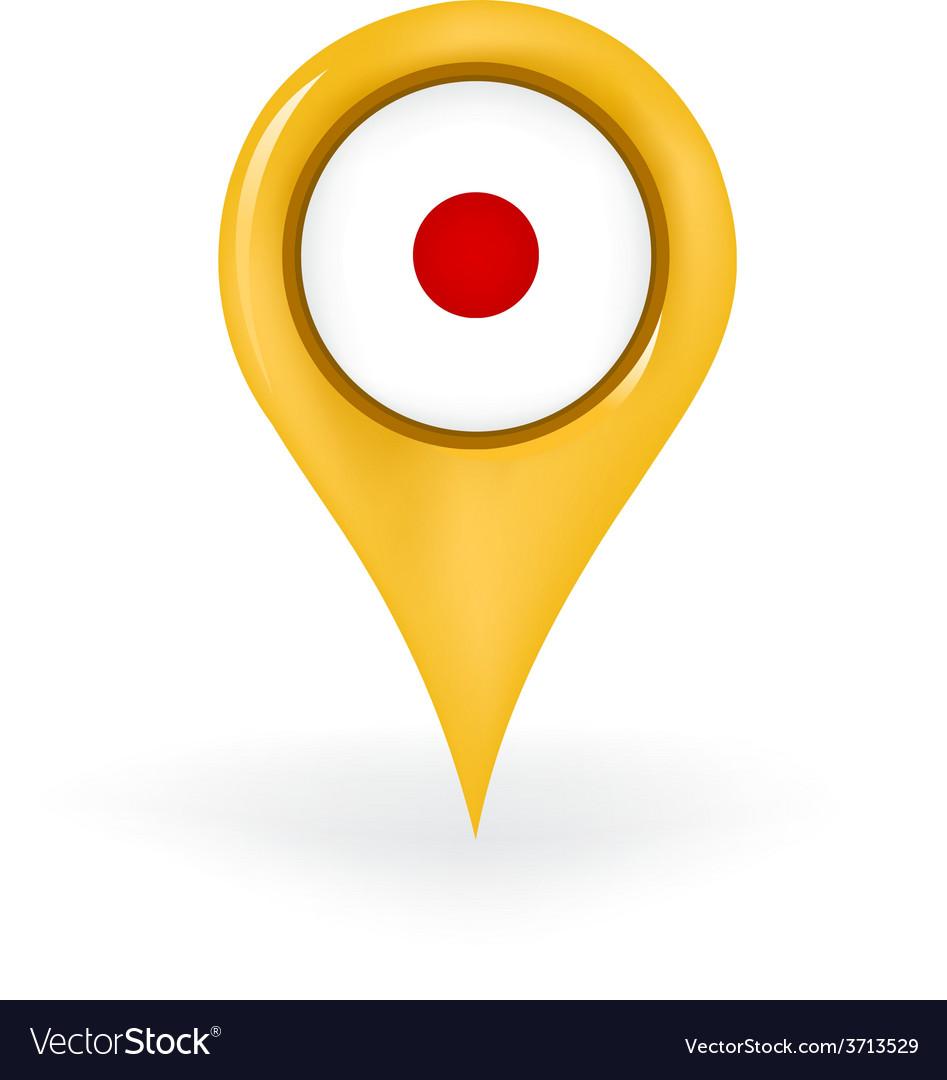 Location japan vector | Price: 1 Credit (USD $1)