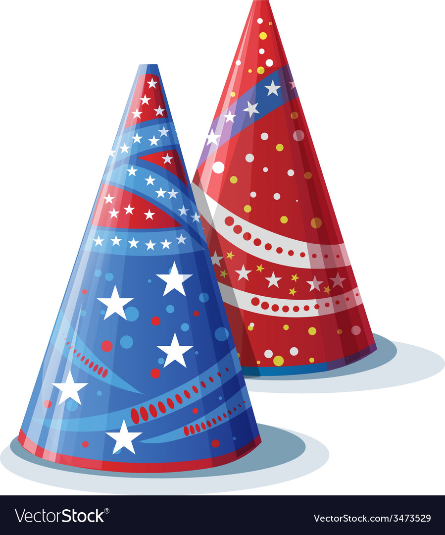 Picture hats for birthday vector   Price: 1 Credit (USD $1)