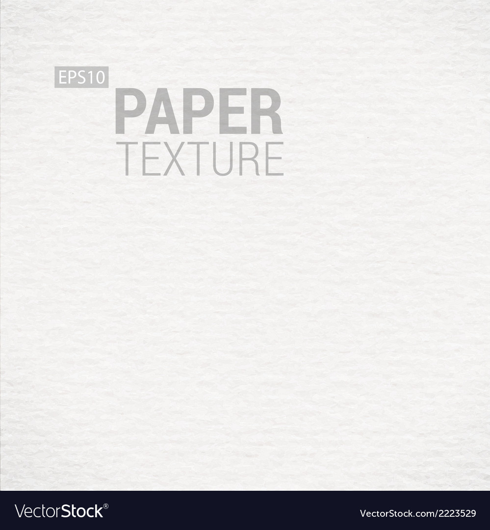 Realistic white paper background texture vector | Price: 1 Credit (USD $1)