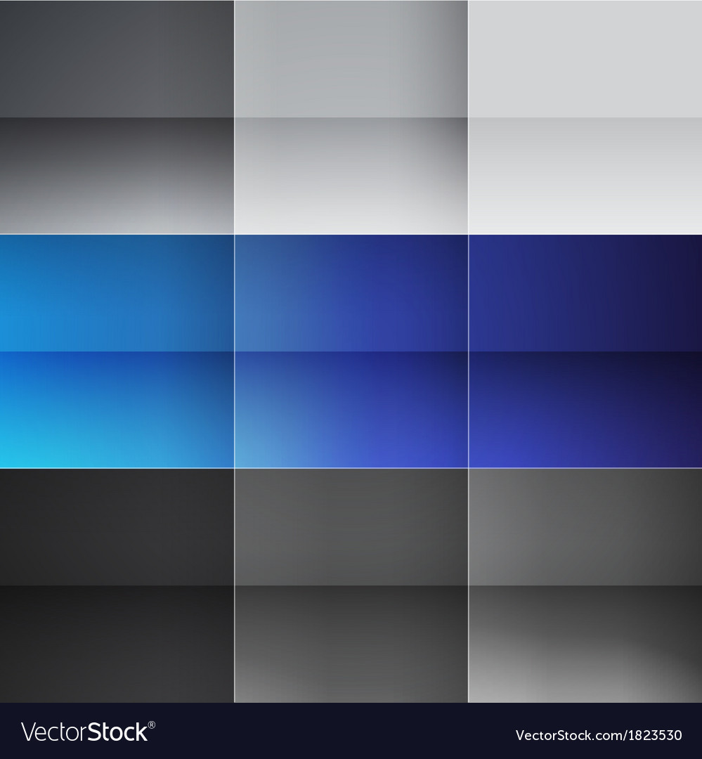 Gray and blue squares abstract background vector | Price: 1 Credit (USD $1)