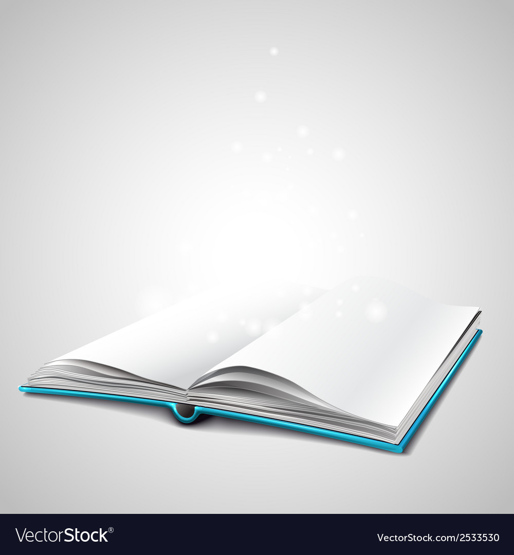 Open book vector | Price: 1 Credit (USD $1)
