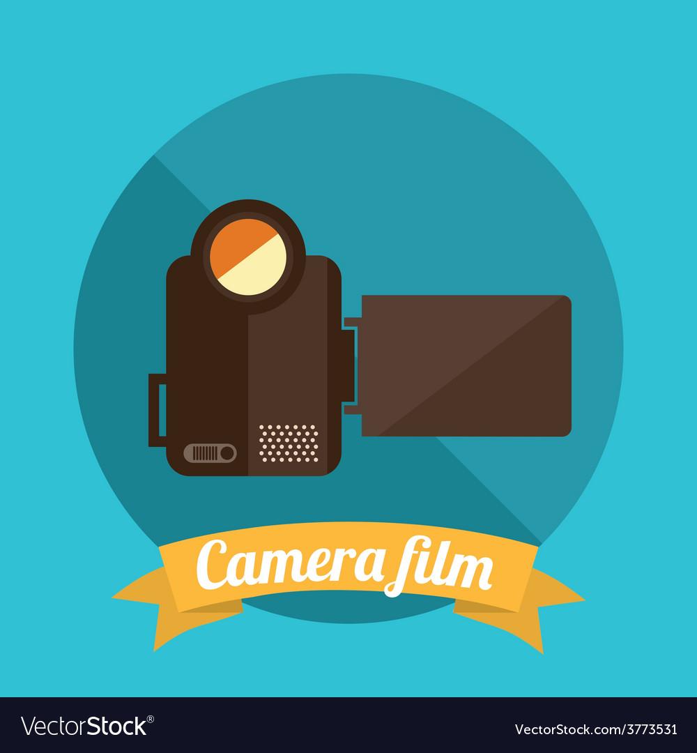 Camera film vector | Price: 1 Credit (USD $1)