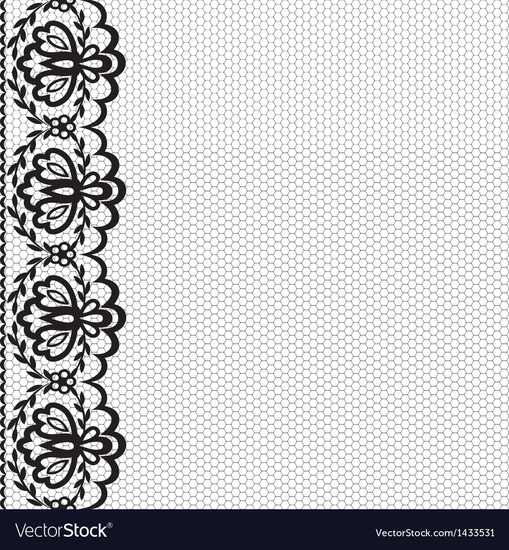 Card with lace border vector   Price: 1 Credit (USD $1)