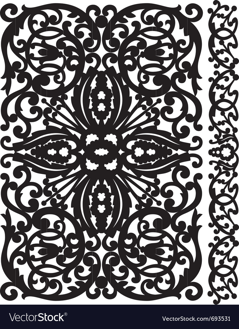 Patten lattice vector | Price: 1 Credit (USD $1)