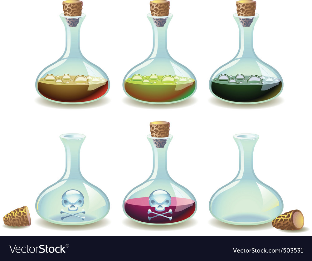 Potions vector | Price: 3 Credit (USD $3)