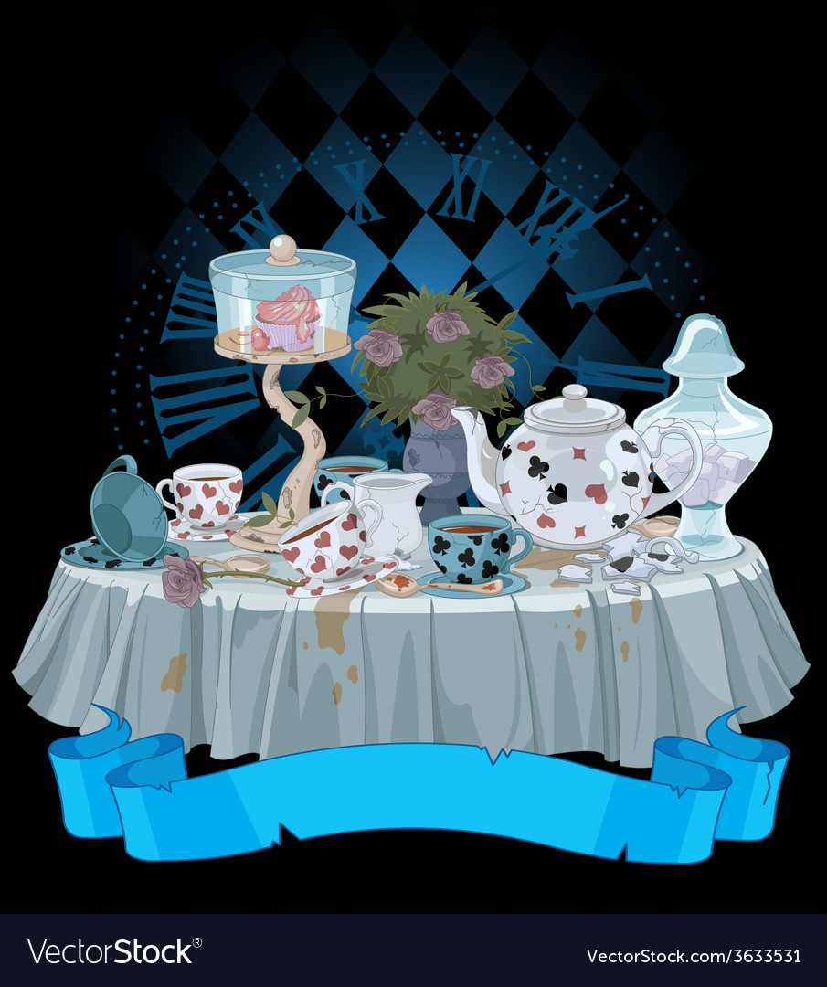 Tea party vector | Price: 3 Credit (USD $3)