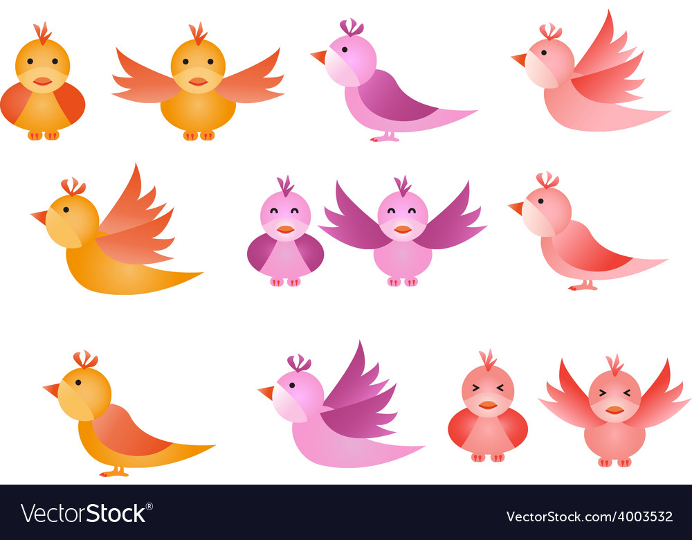Little birds vector   Price: 1 Credit (USD $1)