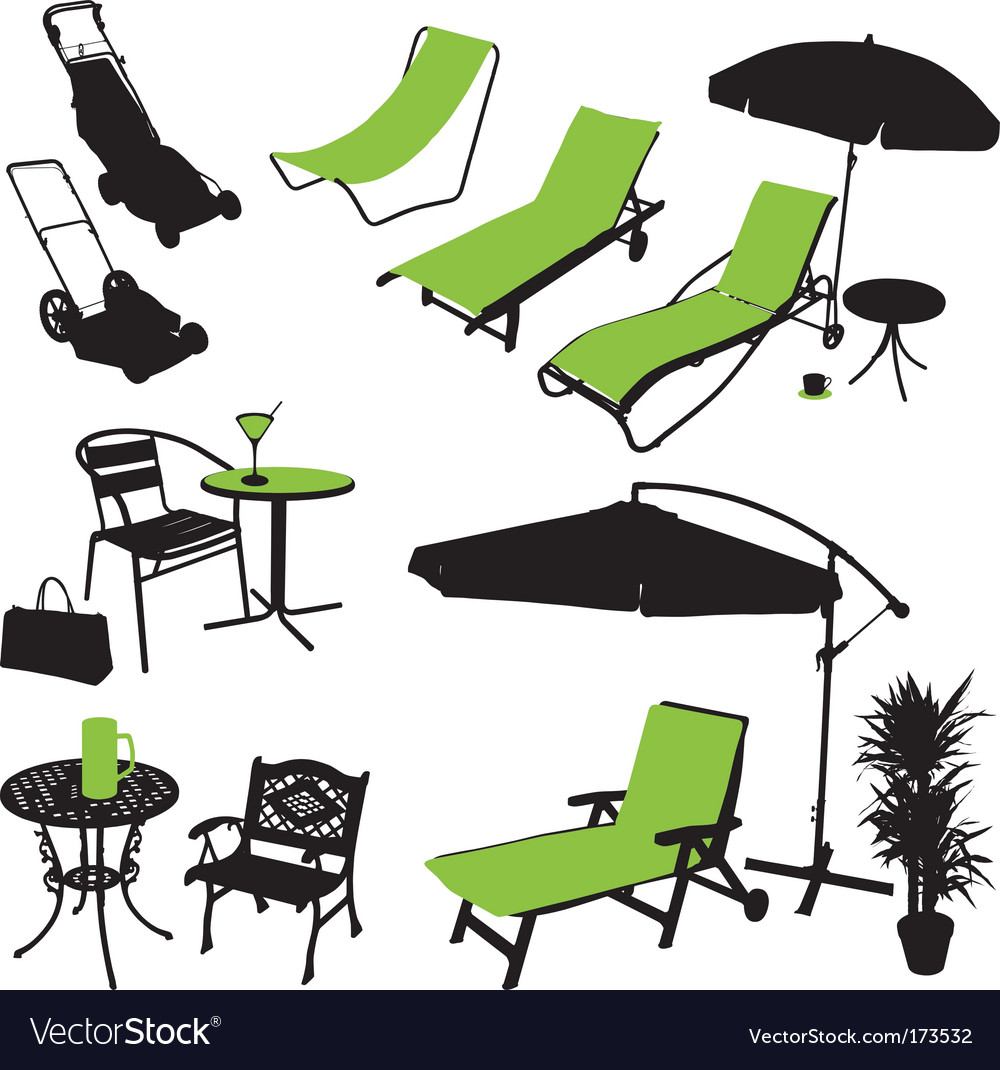 Outdoor items vector | Price: 1 Credit (USD $1)