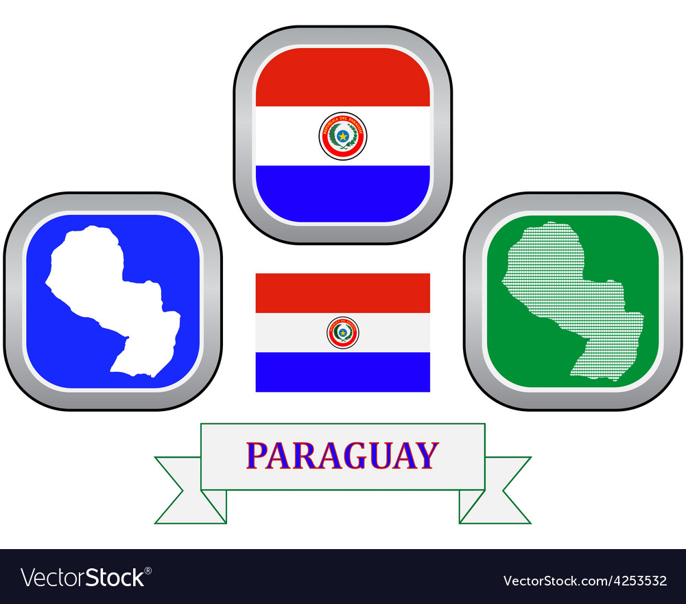 Symbol of paraguay vector | Price: 1 Credit (USD $1)