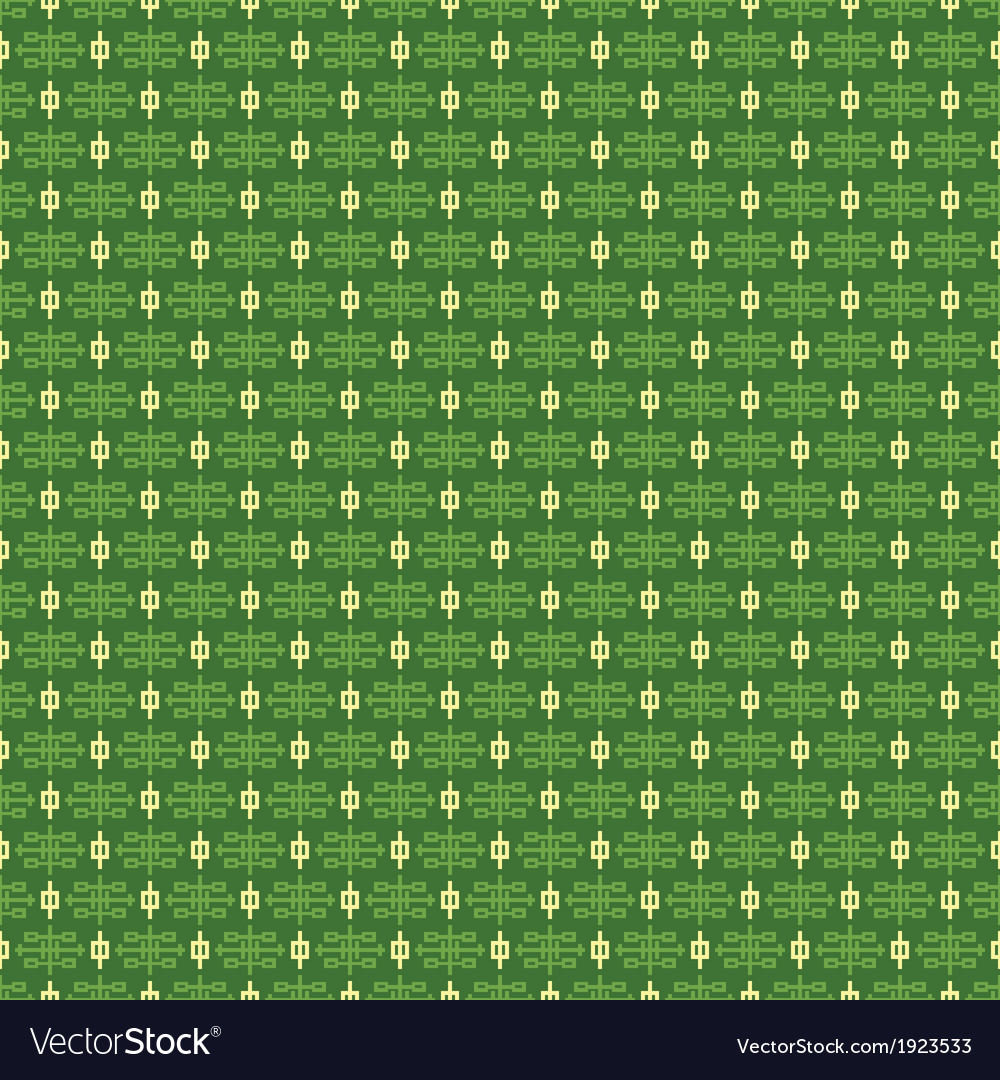 Abstract chinese symbols pattern wallpaper vector | Price: 1 Credit (USD $1)