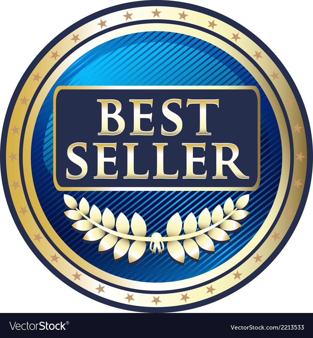 Best seller blue label vector | Price: 1 Credit (USD $1)