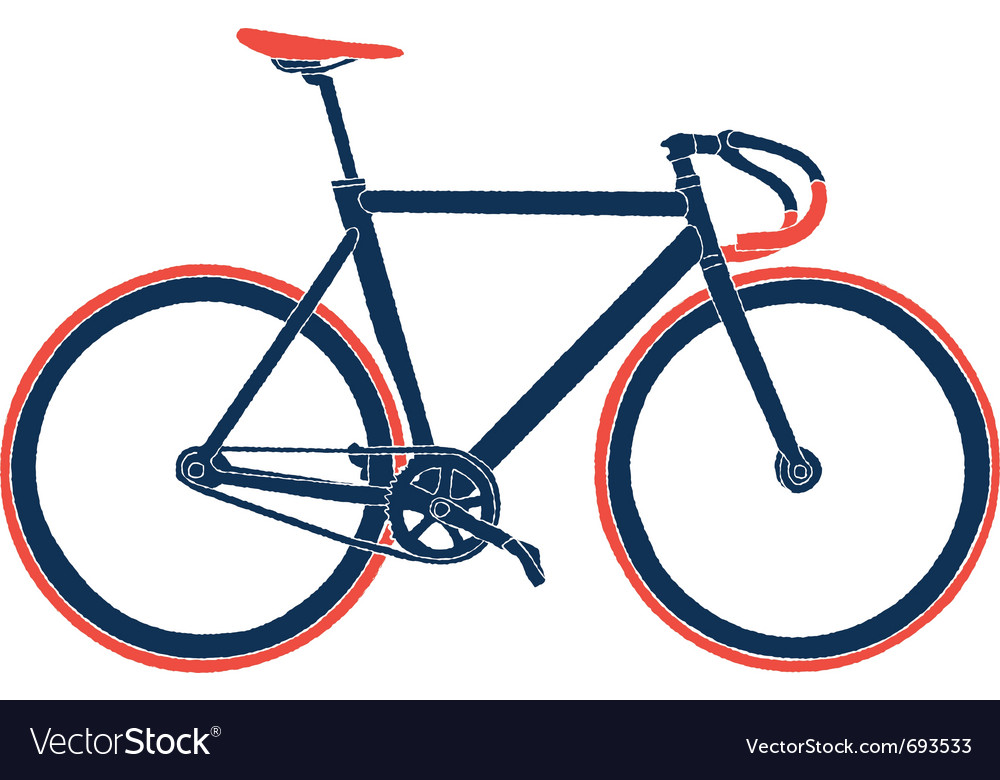 Fixed gear bicycle vector   Price: 1 Credit (USD $1)