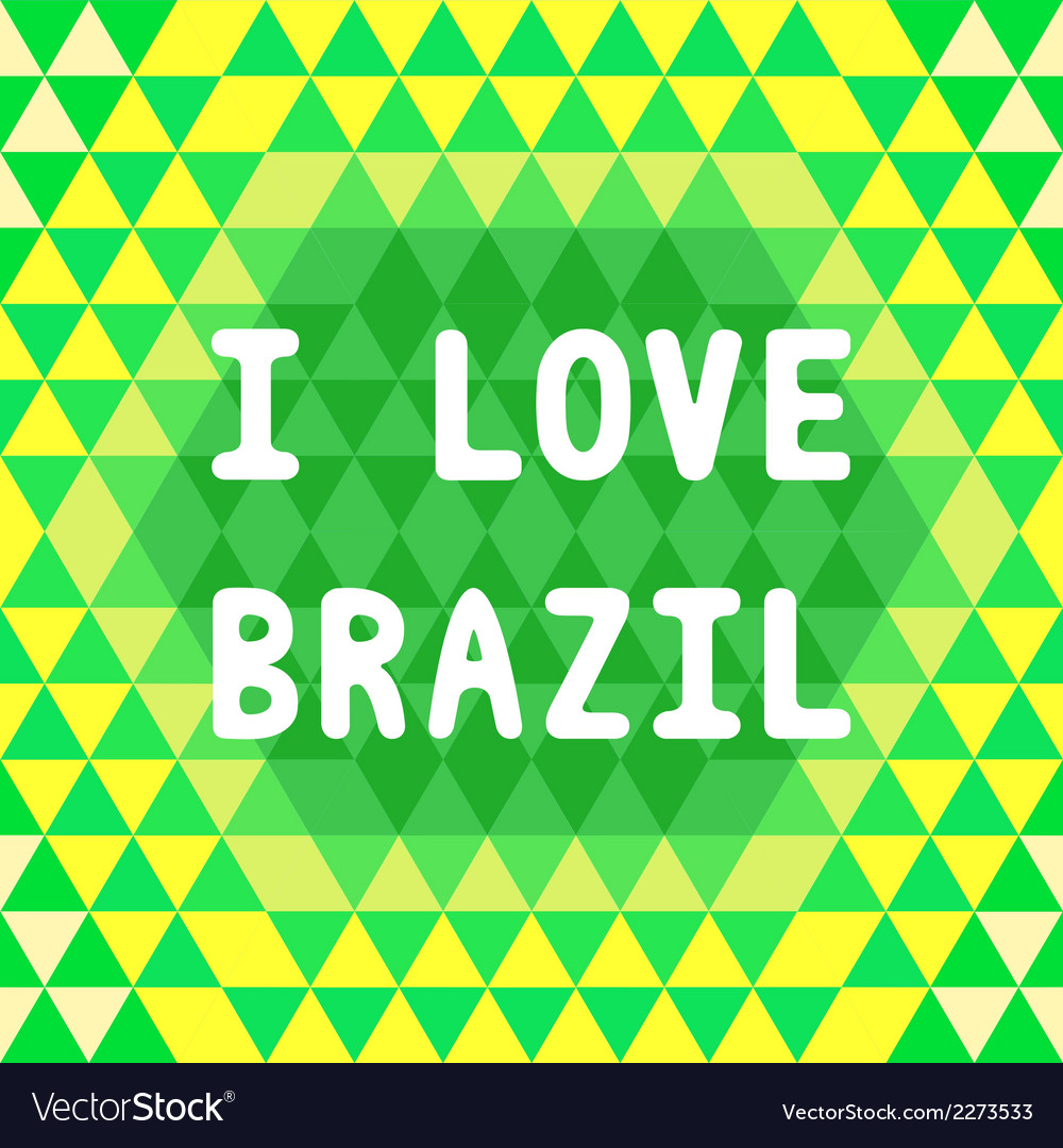 I love brazil2 vector | Price: 1 Credit (USD $1)