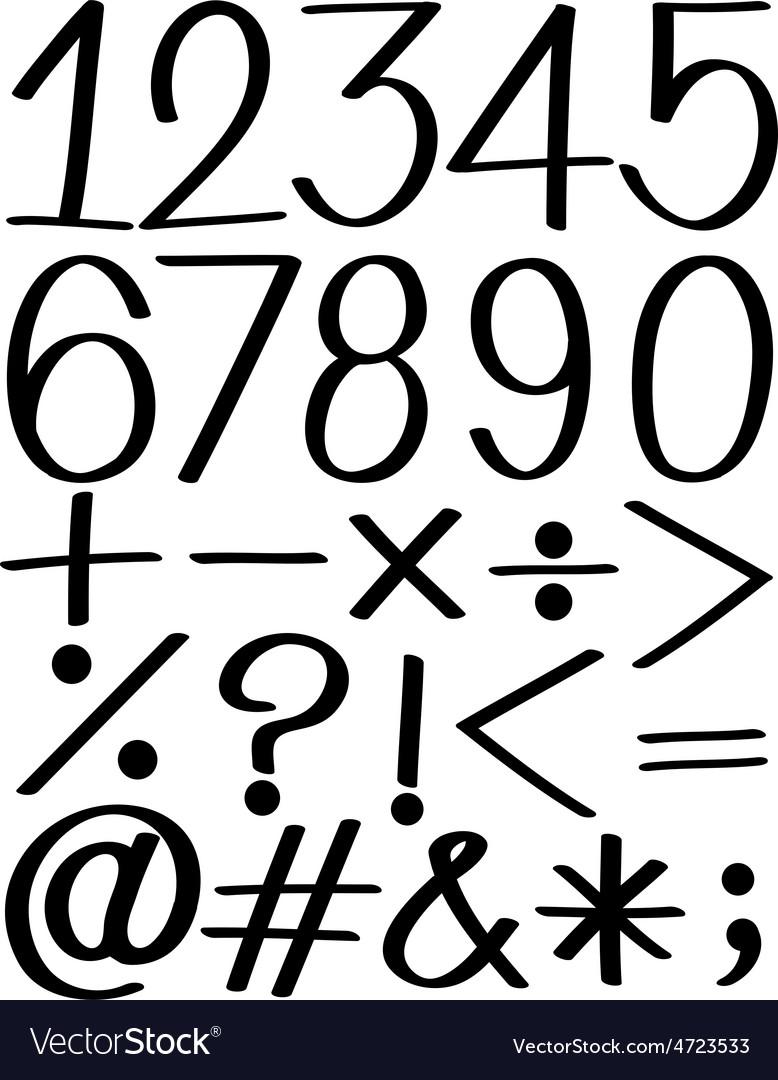 Number vector   Price: 1 Credit (USD $1)