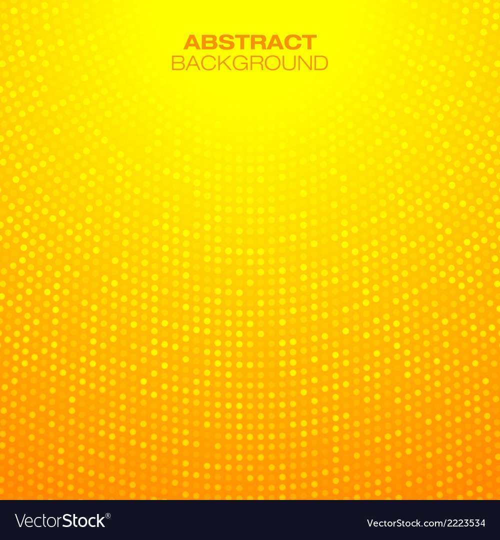 Abstract circular orange background vector | Price: 1 Credit (USD $1)