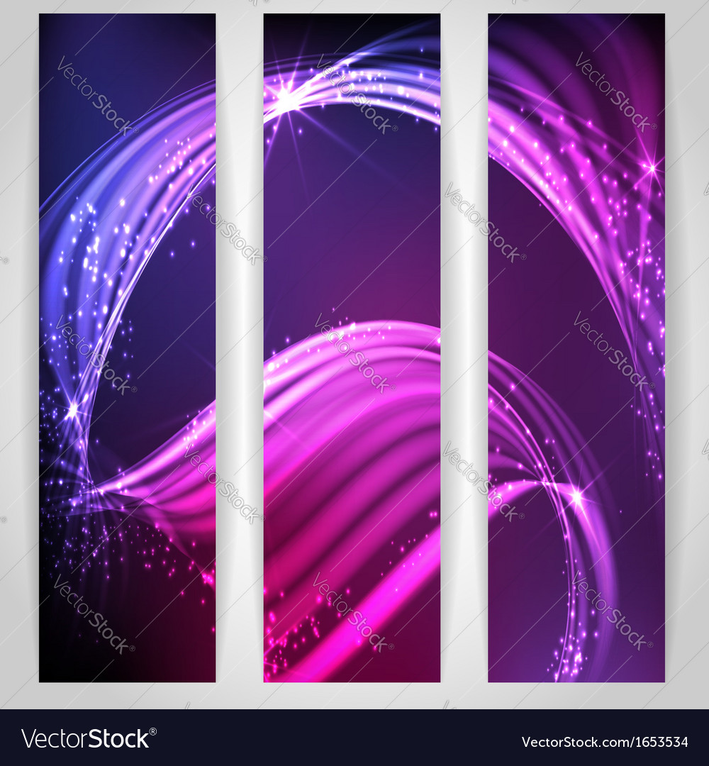 Abstract neon waves vector | Price: 1 Credit (USD $1)