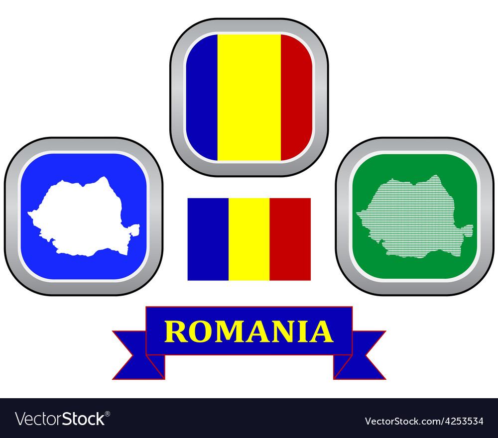 Symbol of romania vector | Price: 1 Credit (USD $1)