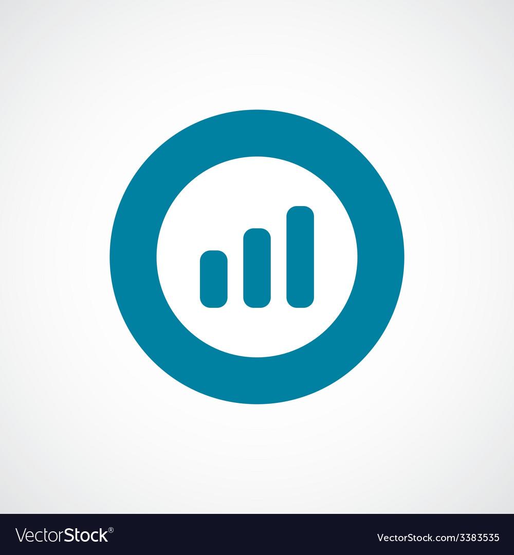 Business diagram chart bold blue border circle vector | Price: 1 Credit (USD $1)