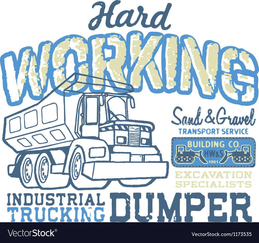 Hard working vector | Price: 1 Credit (USD $1)