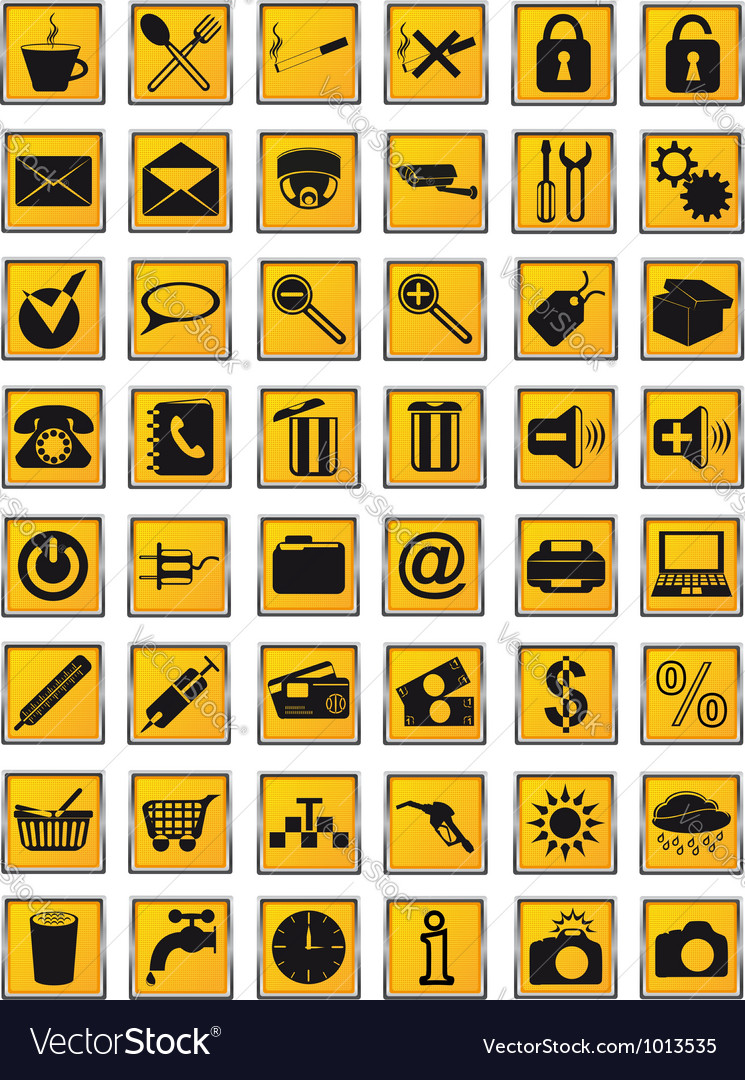 Icons 25 vector | Price: 1 Credit (USD $1)