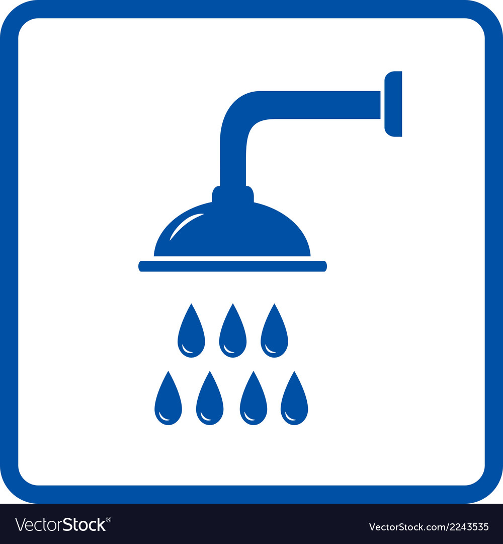 Isolated shower head vector | Price: 1 Credit (USD $1)