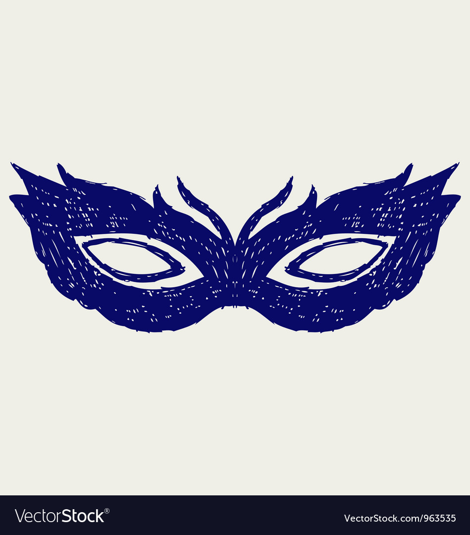 Mask for masquerade costumes vector | Price: 1 Credit (USD $1)