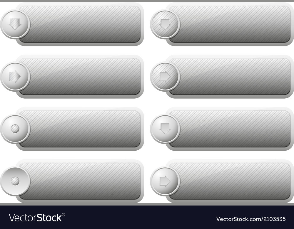 Set of internet buttons vector | Price: 1 Credit (USD $1)