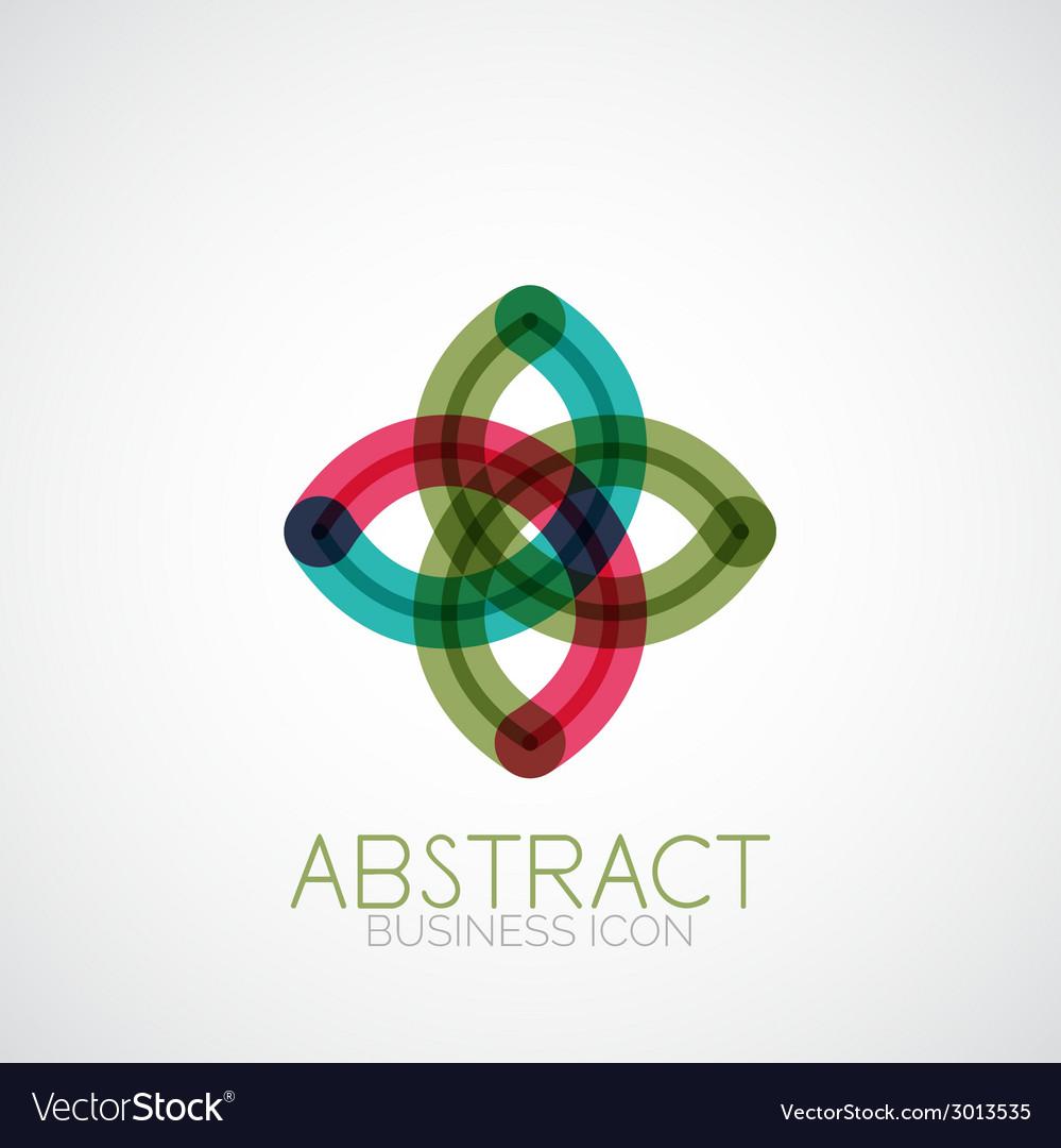Symmetric abstract geometric shape vector   Price: 1 Credit (USD $1)