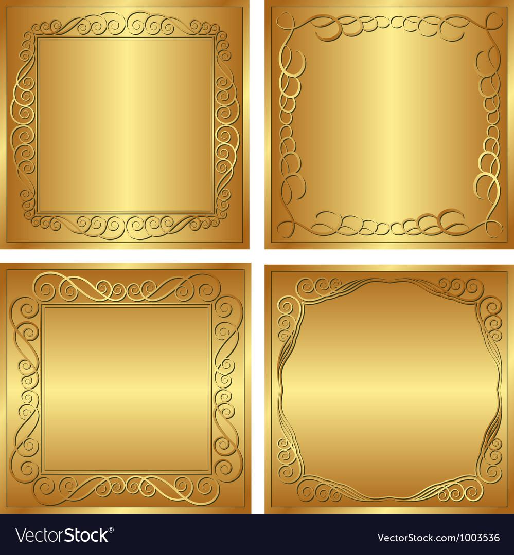Golden background vector | Price: 1 Credit (USD $1)