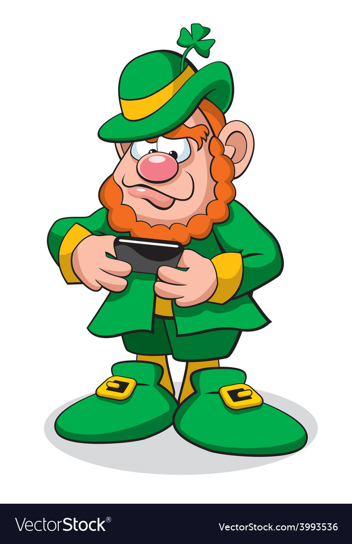 Leprechaun 1 vector | Price: 3 Credit (USD $3)