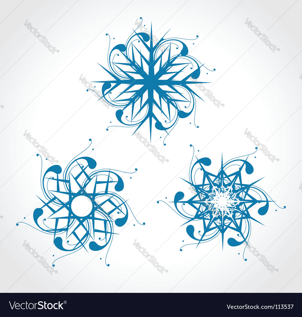 Christmas snow vector | Price: 1 Credit (USD $1)