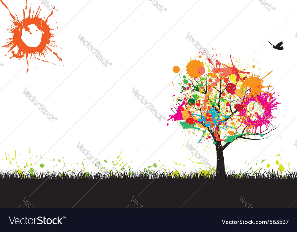 Grunge nature background vector | Price: 1 Credit (USD $1)
