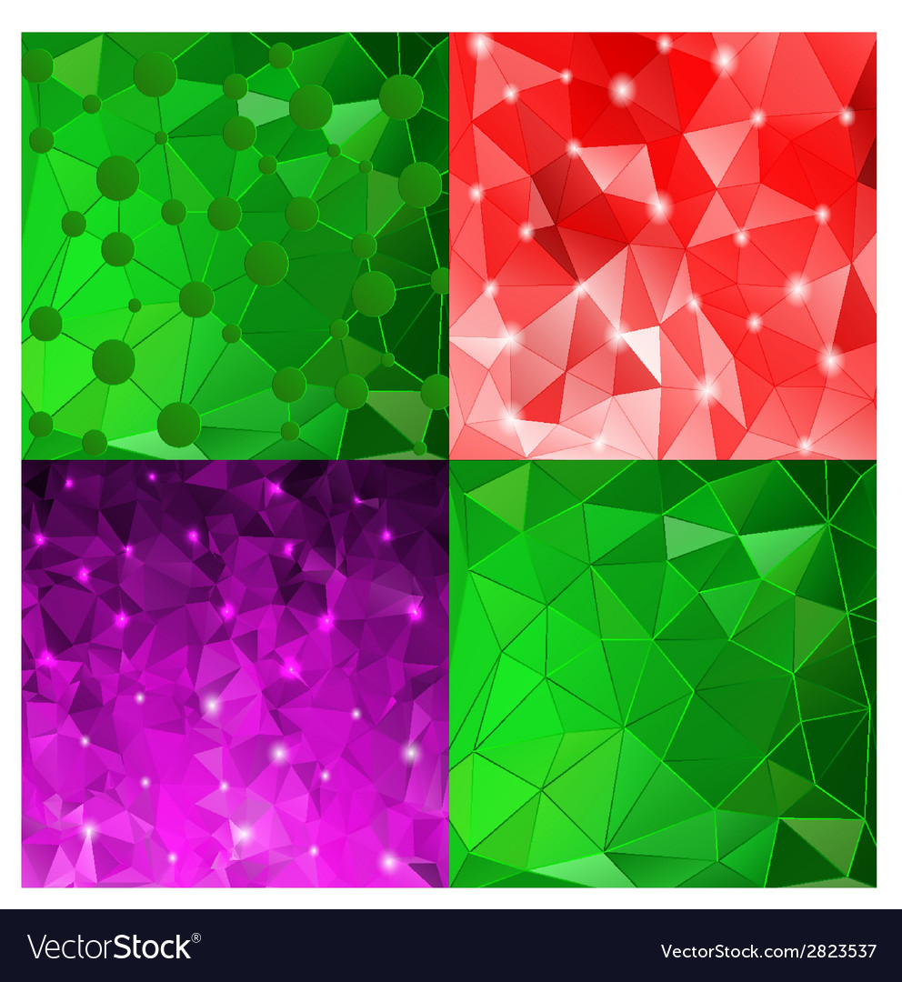 Set of elegant abstract background for your design vector | Price: 1 Credit (USD $1)