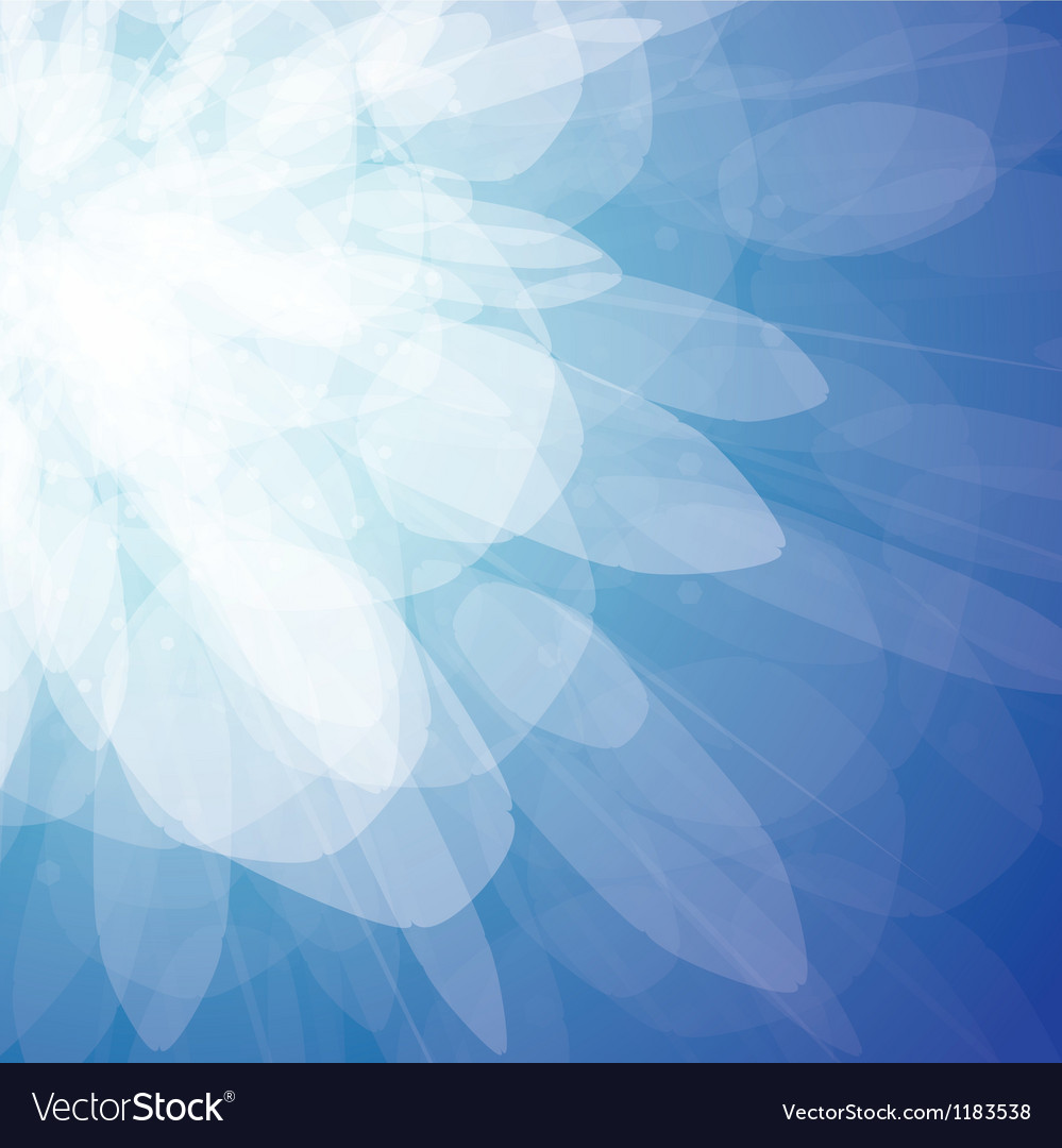 Blue light burst vector | Price: 1 Credit (USD $1)