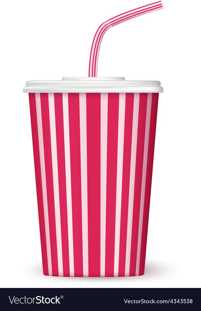 Cinema cup vector