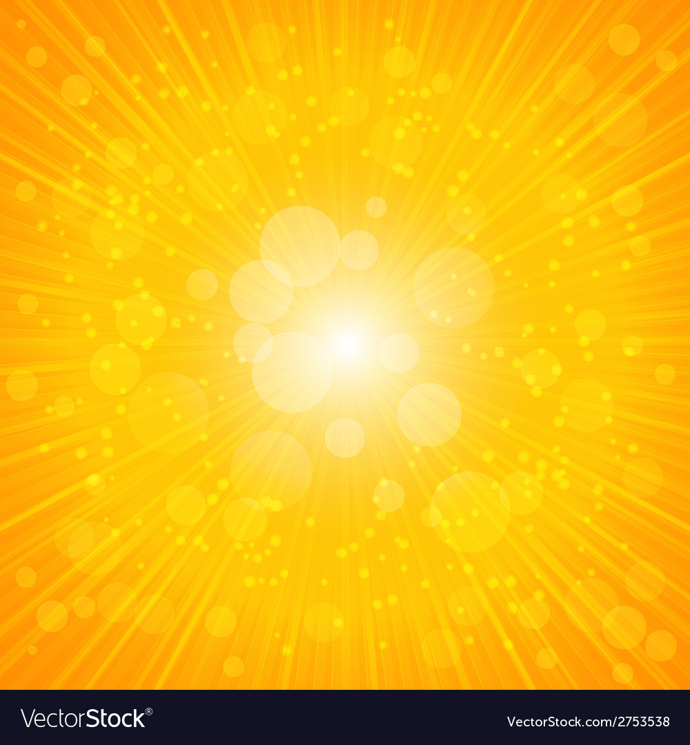 Yellow summer background vector | Price: 1 Credit (USD $1)