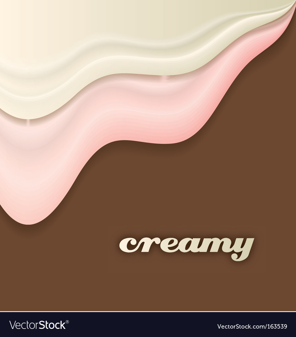 Cream vector | Price: 1 Credit (USD $1)