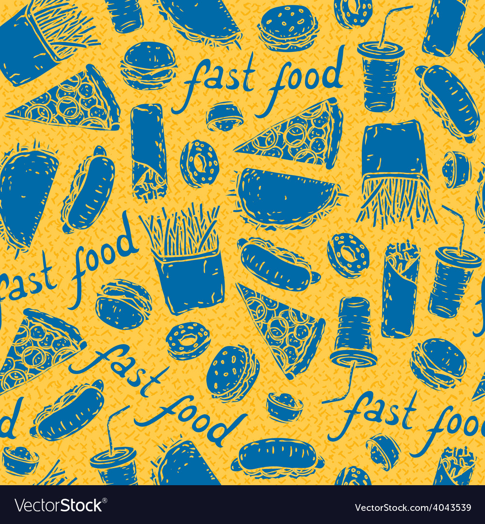 Fast food vector | Price: 1 Credit (USD $1)