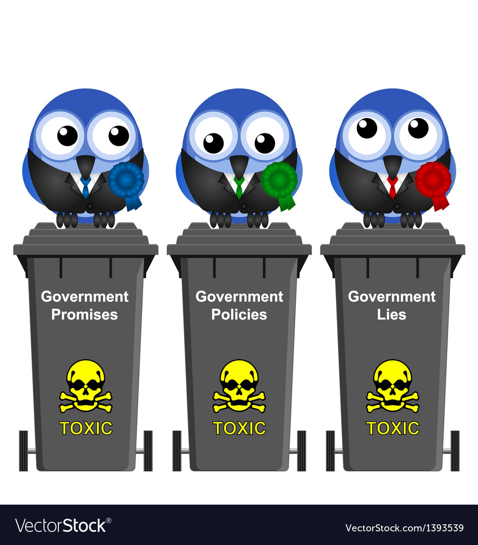 Government waste bins vector | Price: 1 Credit (USD $1)