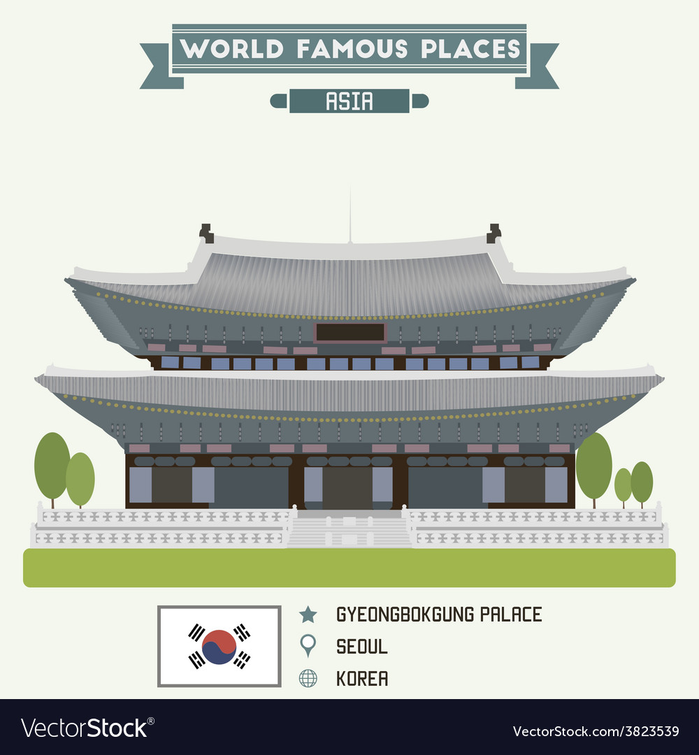 Seoul vector | Price: 3 Credit (USD $3)
