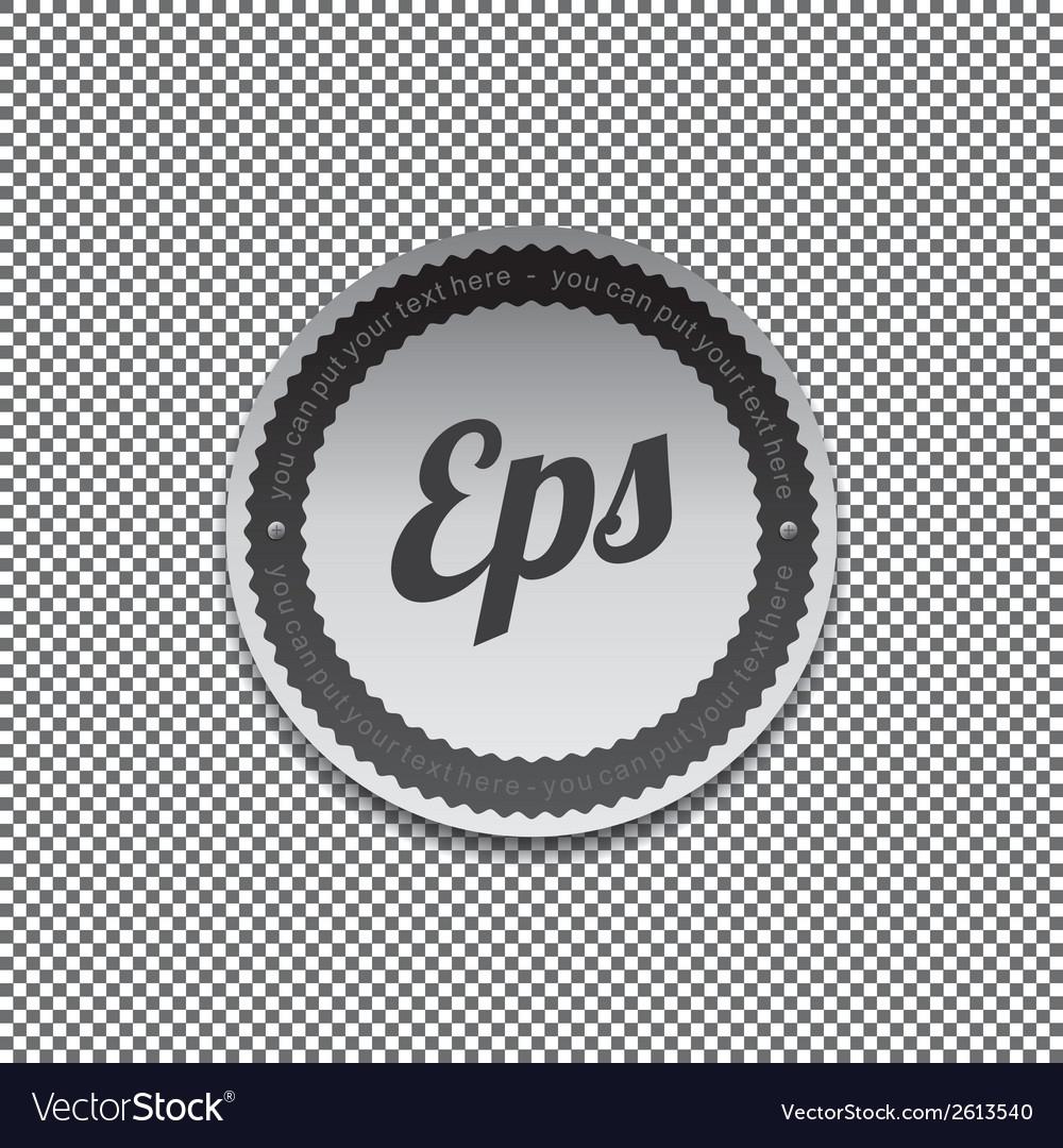 Design label vector | Price: 1 Credit (USD $1)