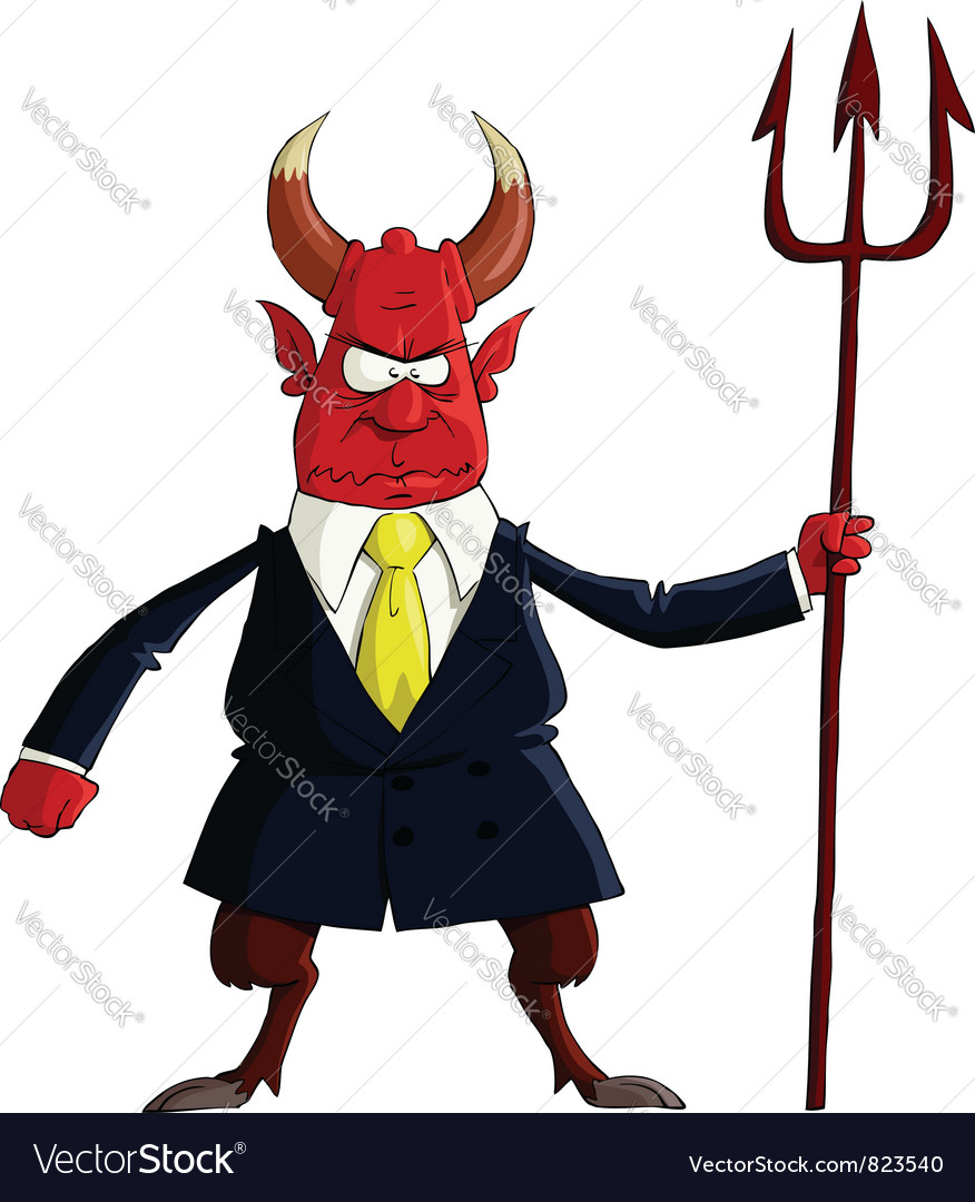 Devil boss vector | Price: 3 Credit (USD $3)